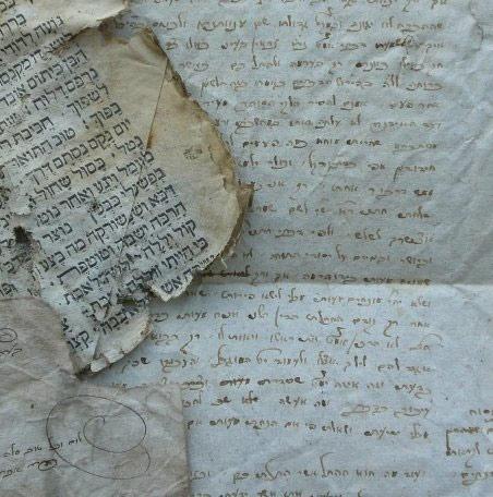 Schriftstücke aus der Synagoge von Memmelsdorf, handschriftlich und gedruckt