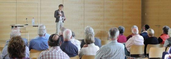 Vortragsveranstaltung im David-Schuster-Saal