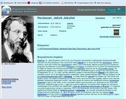 Miniaturbild zu:Biographische Datenbank jüdisches Unterfranken - Neue Adresse