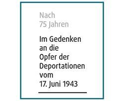 Miniaturbild zu:Ausstellung und Gedenken 'Nach 75 Jahren'