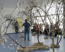 Miniaturbild zu:Vortrag und Performance WAVE zur Ausstellung 'Nachhall'